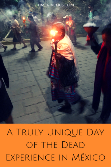 Being in Mexico for Día de los Muertos is an incredible experience. But the Sierra Mazateca in Oaxaca celebrates Day of the Dead unlike any other. In Huautla de Jiménez days before Día de Muertos, the mazatecos call on the spirits of the dead to walk among them for a time within the bodies of the huehuentones, masked people who play music every night until Day of the Dead, turning the city into a living ofrenda.