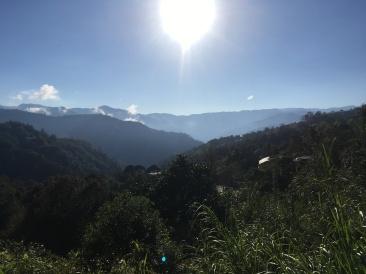 View of the Sierra Mazateca